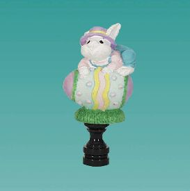 Closeout Bunny Lamp Topper