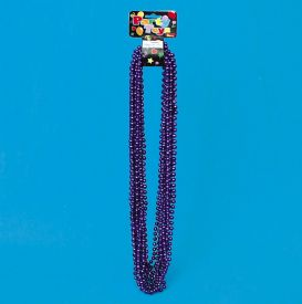 Bead Necklace Wholesale - Purple