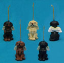Angel Dog Figurine Ornaments