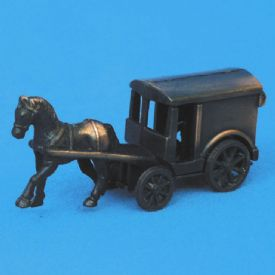 Antique Pencil Sharpener Horse And Buggy