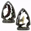 Arrowhead Animal Scene Figurine