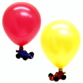 Balloon Racer Toy Car