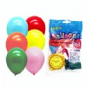 Latex Balloons Assorted Colors 12 Pack