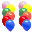 Latex Balloons Assorted Colors - 72 Piece Bag