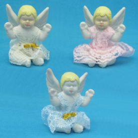 Baptism Angel Figurines