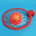 Basketball Hoop Set Is 1 Piece