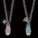 Best Friends Sneaker Necklace Set is 1 Piece