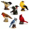 Bird Figurine Assortment