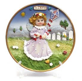 Decorative Plaque - March Angel
