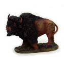 Bison Figurine - Buffalo Figurine - Brown