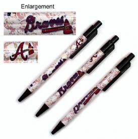 Atlanta Braves Team Logo Pen