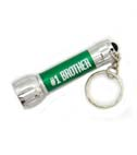 Brother Gift LED Flashlight Keychain