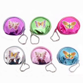 Butterfly Change Purse With Zipper