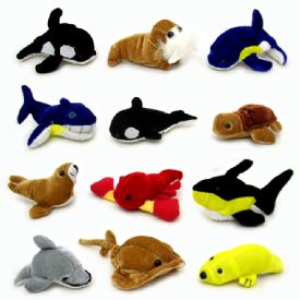 Stuffed Sealife Animals