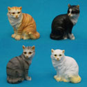 Cat Figurines