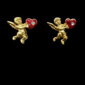 Cupid Clip On Earrings Bulk
