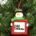 Dad Gift Christmas Ornament