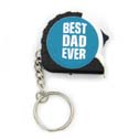 Dad Gift Tape Measure Keychain