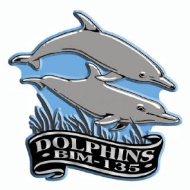 Imprint Magnet Dolphins