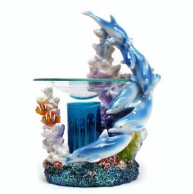 Scented Oil Warmer - Dolphins
