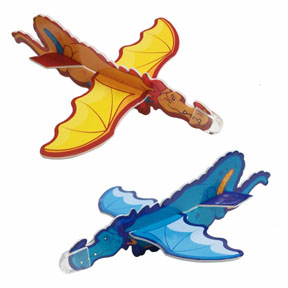 Toy Dragon Gliders