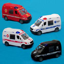Toy Rescue Vehicles