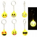 Emoji Keychains With Blinking Lights