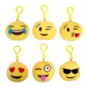 Mini Emoji Pillows With Clip