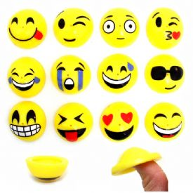 Emoji Rubber Pop Up Toys