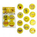 Emoji Erasers 4 Erasers Per Pack Is 1 Piece