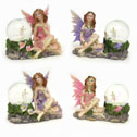 Fairy Figurine With Water Globe