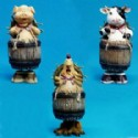 Farm Animal Barrel Bobbles