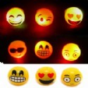 Emoji Light Up Flashing Rings