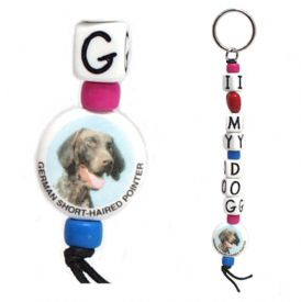 Closeout German Short Haired Pointer Keychain