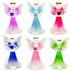 Glass Angel Figurines
