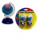 2 Globe Pencil Sharpeners Per Package Is 1 Piece