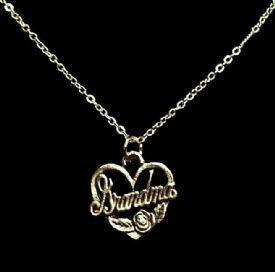 Grandma Gift Heart Necklace