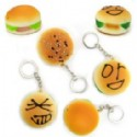 Hamburger Keychains