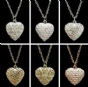Fashion Jewelry - Ladies Heart Locket Necklace