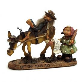 Hillbilly Figurine Get Off Your @$$