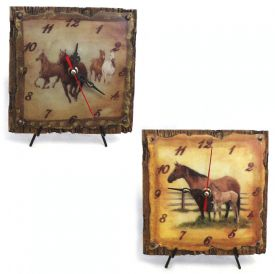 Wholesale Horse Scene Clock