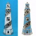 Lighthouse Tea Light Candle Holder