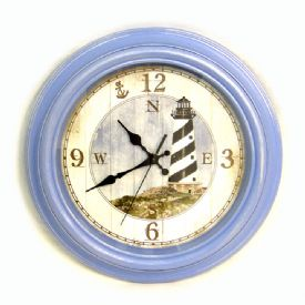 Lighthouse Scene Clock