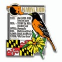 Souvenir Magnets Maryland
