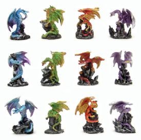 Miniature Dragon Figurines - Miniature Figurines Wholesale