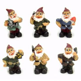 Miniature Gnome Figurines