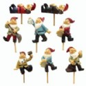 Miniature Gnome Figurine Picks
