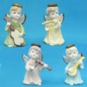 Minstrel Angel Figurines