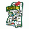 Souvenir Magnets Mississippi
