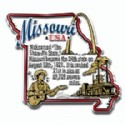 Souvenir Magnets Missouri